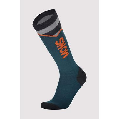 Mons Royale Lift Access Sock - 2020 - Atlantic Orange Smash