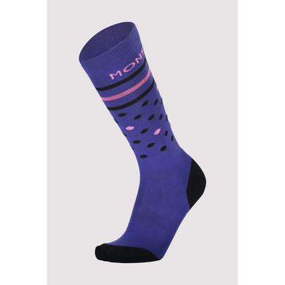 Mons Royale Lift Access Sock - 2020 - Ultra Blue Pink
