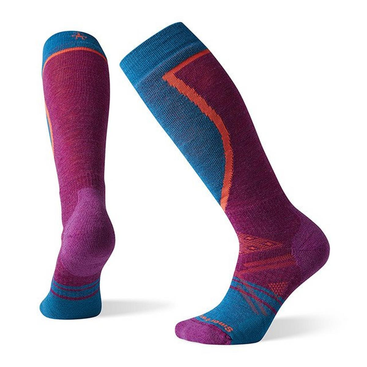 Smartwool Women's PhD Ski Medium Socks - Meadow Mauve