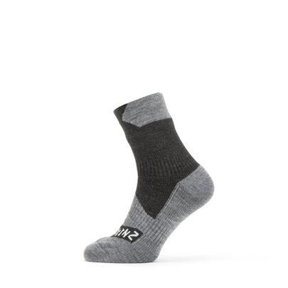 Sealskinz Waterproof All Weather Ankle Sock - Black