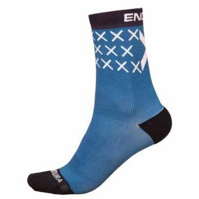 Endura Men's Scotland Flag Sock - Blue