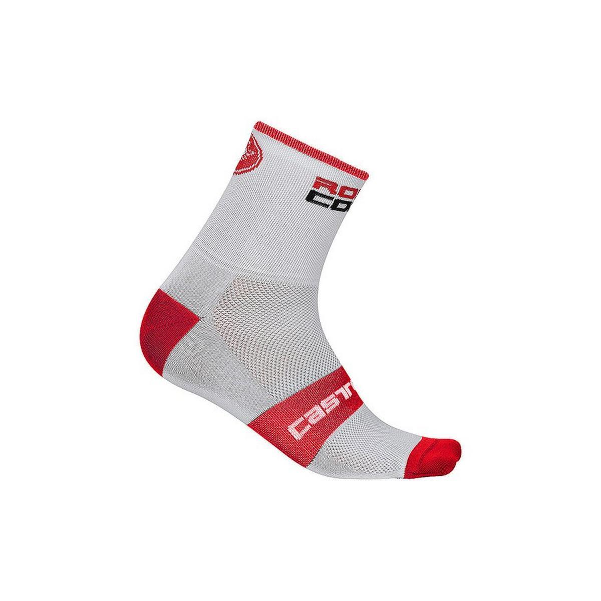 Castelli Men's Rosso Corsa 6 Sock