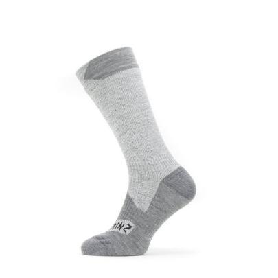 Sealskinz Waterproof All Weather Mid Sock - Grey