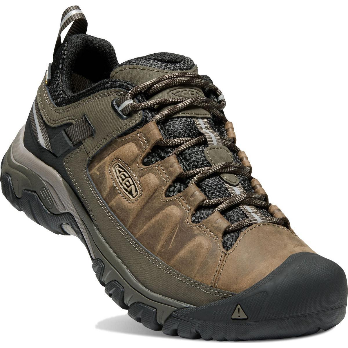 Keen Shoes Men's Targhee III WP Black Olive/Golden Brown