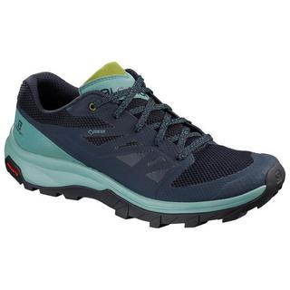 Women's Salomon Outline GORE-TEX Hiking Shoes - Trellis/Navy/Guacamole