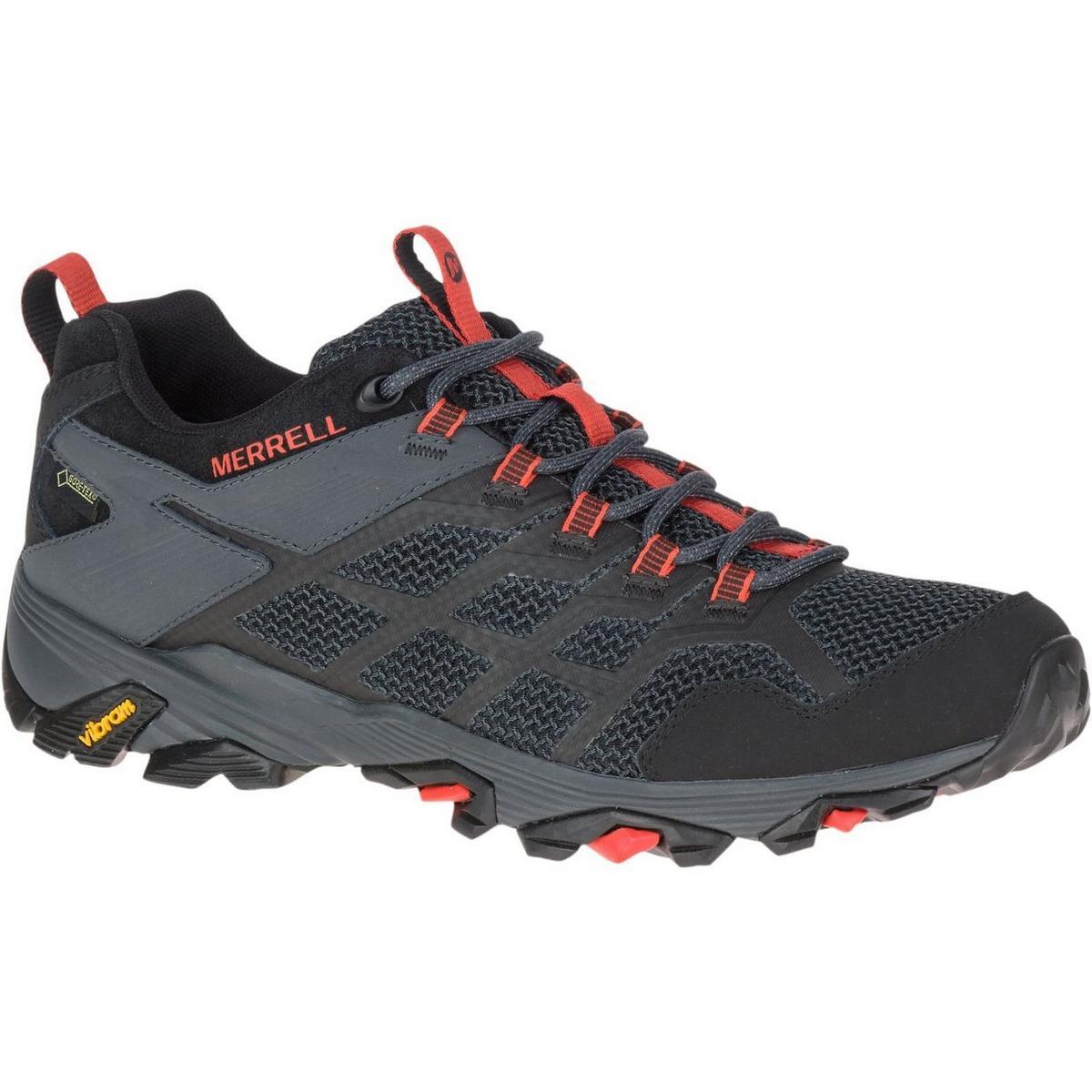 Merrell Men's Moab FST 2 Gore-Tex - Black Granite