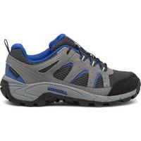 Kid's Oakcreek Low Lace Waterproof Shoe - Charcoal