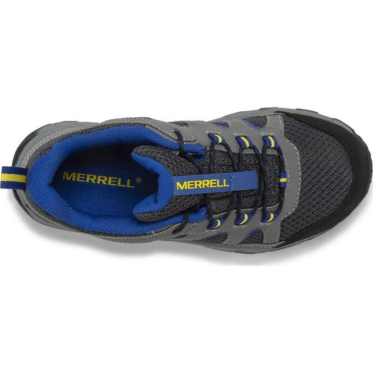 Merrell Kid's Oakcreek Low Lace Waterproof Shoe - Charcoal