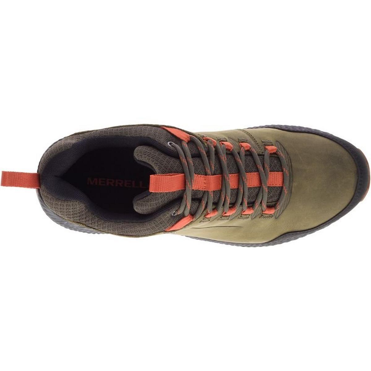 Merrell Men's Forestbound Waterproof Shoe - Dark Olive