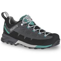 Women's Steinbock WT Low GTX Shoes - Pewter Grey/Tropical Green
