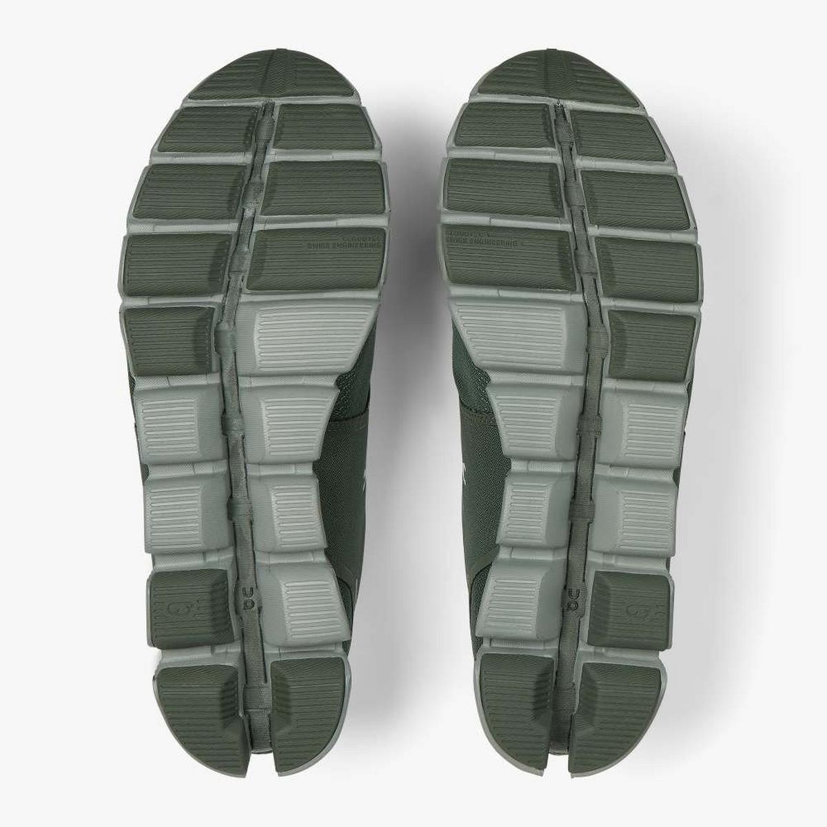 On Cloud Waterproof Shoe - Green