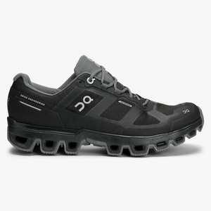 Women's Cloudventure Waterproof Trail Running Shoe - Black
