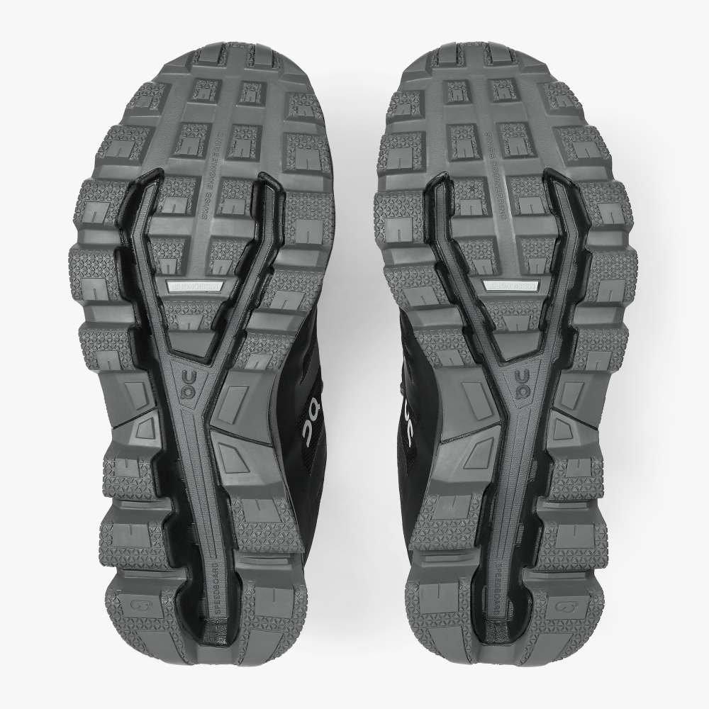 On Women's Cloudventure Waterproof Trail Running Shoe - Black