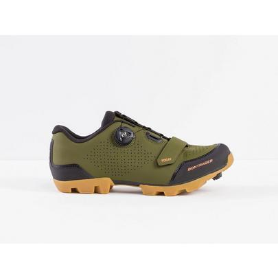 Bontrager Men's Foray MTB Shoe - Olive/Grey