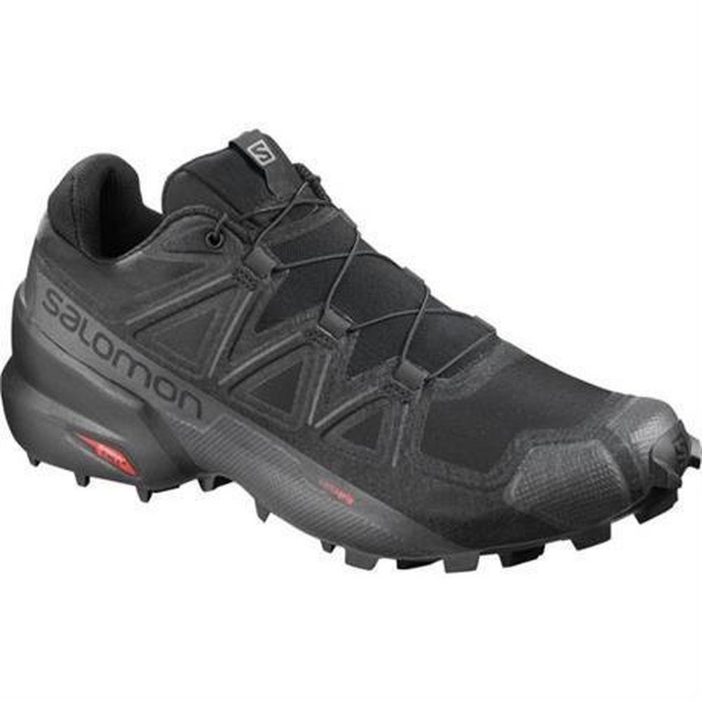 Salomon Shoes Men's Speedcross 5 Wide Black/Phantom