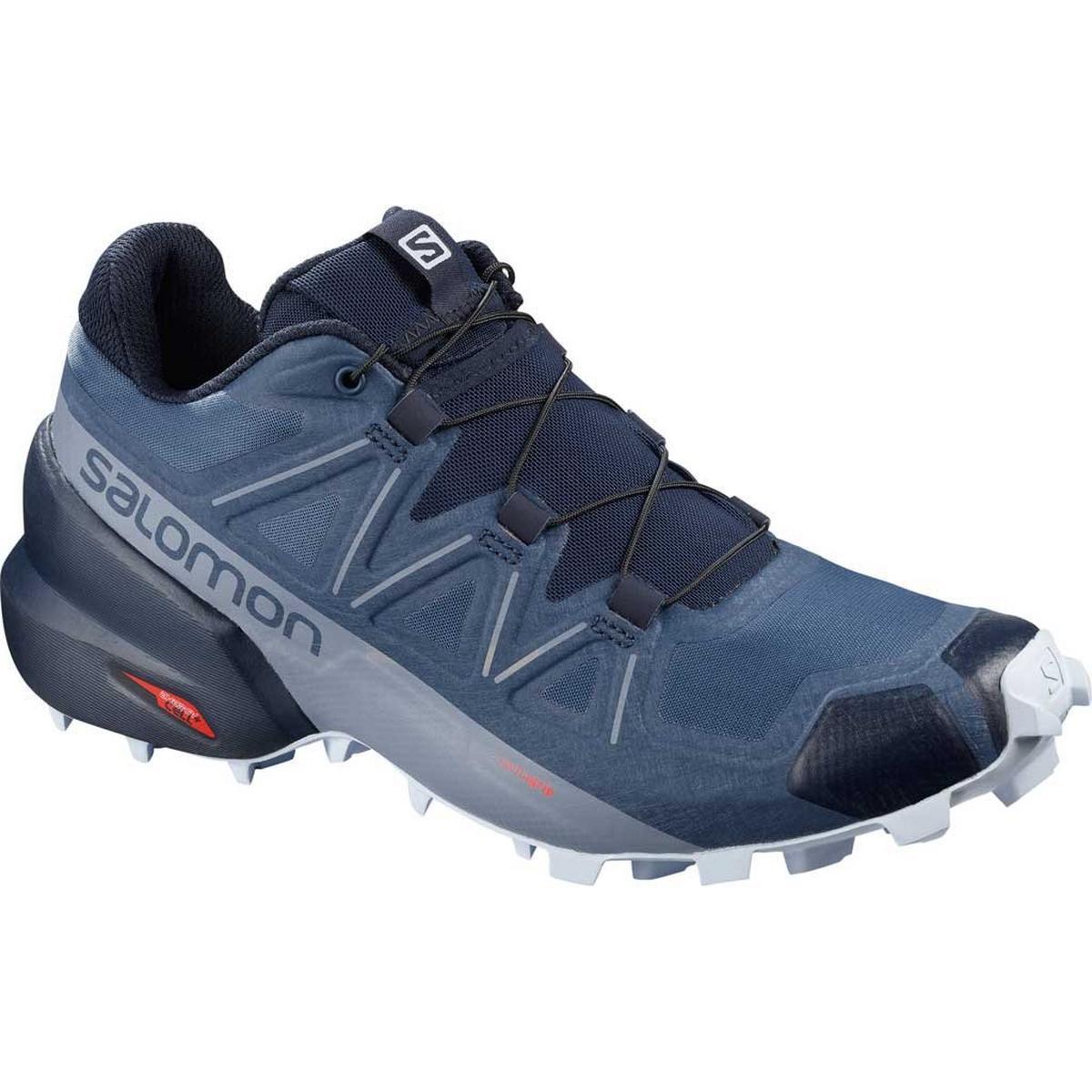 Salomon Shoes Women's Speedcross 5 Sargasso Sea/Navy/Heather