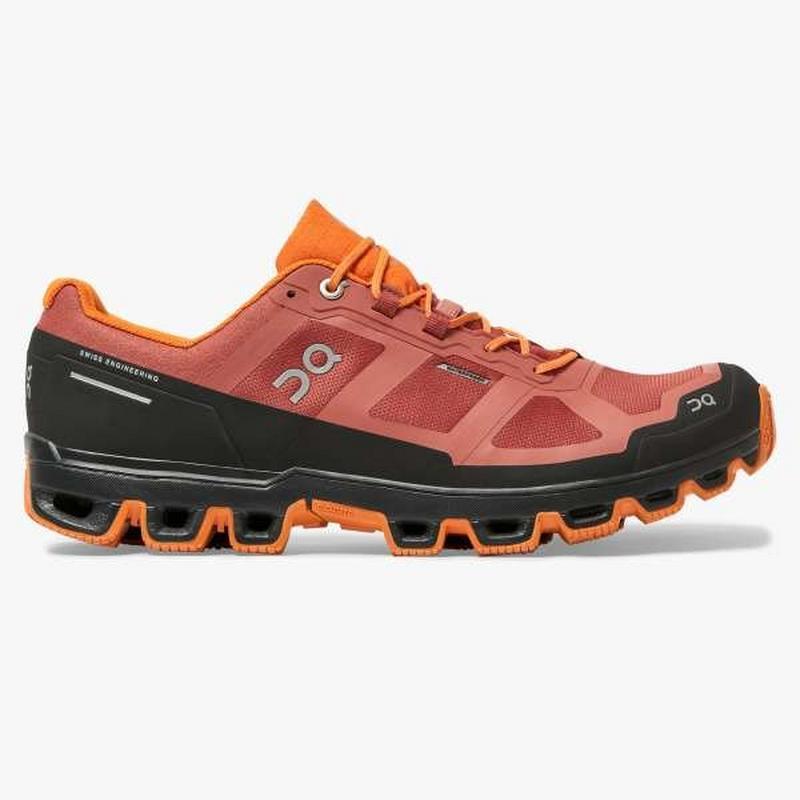 Cloudventure Waterproof Trail Running Shoe - Orange