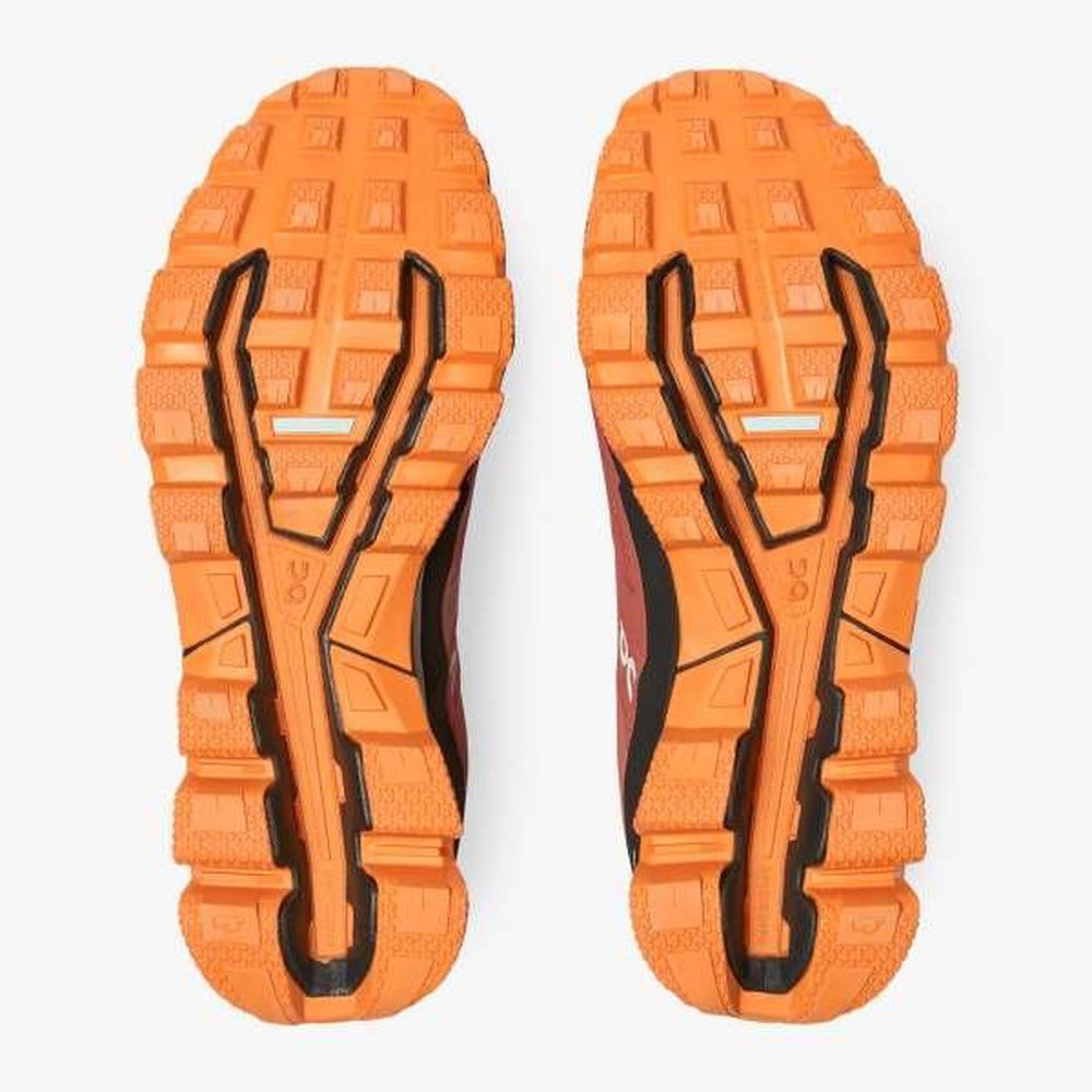 On Cloudventure Waterproof Trail Running Shoe - Orange