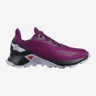 Kids' Alphacross Blast Climasalomon? Waterproof - Purple