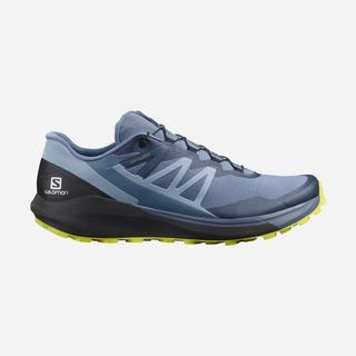 Men's Sense Ride 4 Trail Running Shoe - Copen Blue/Black/Evening Primrose