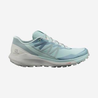 Women's Sense Ride 4 Trail Running Shoe - Pastel Turquoise/ Lunar Rock/ Slate