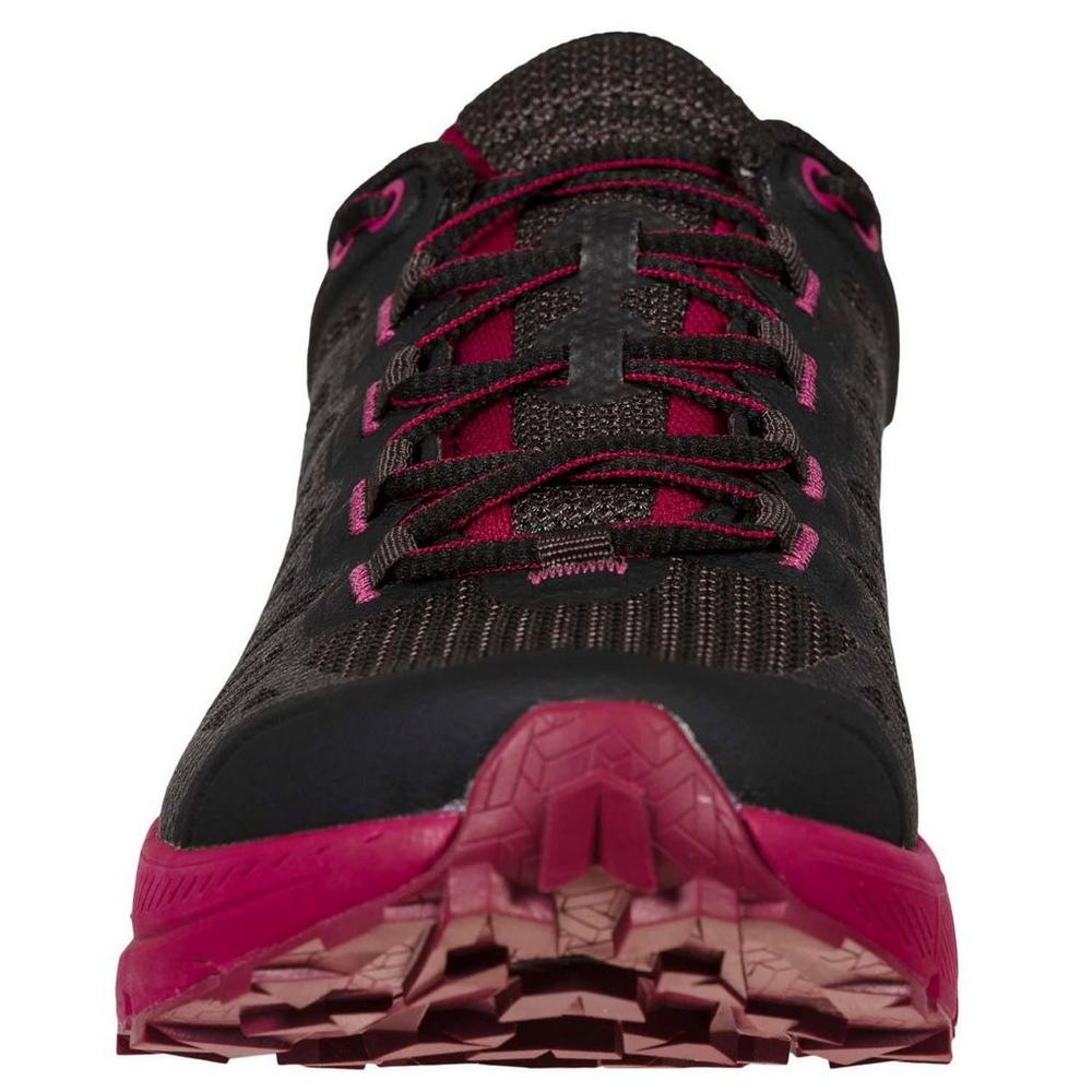 La Sportiva Women's Karacal - Black / Red Plum