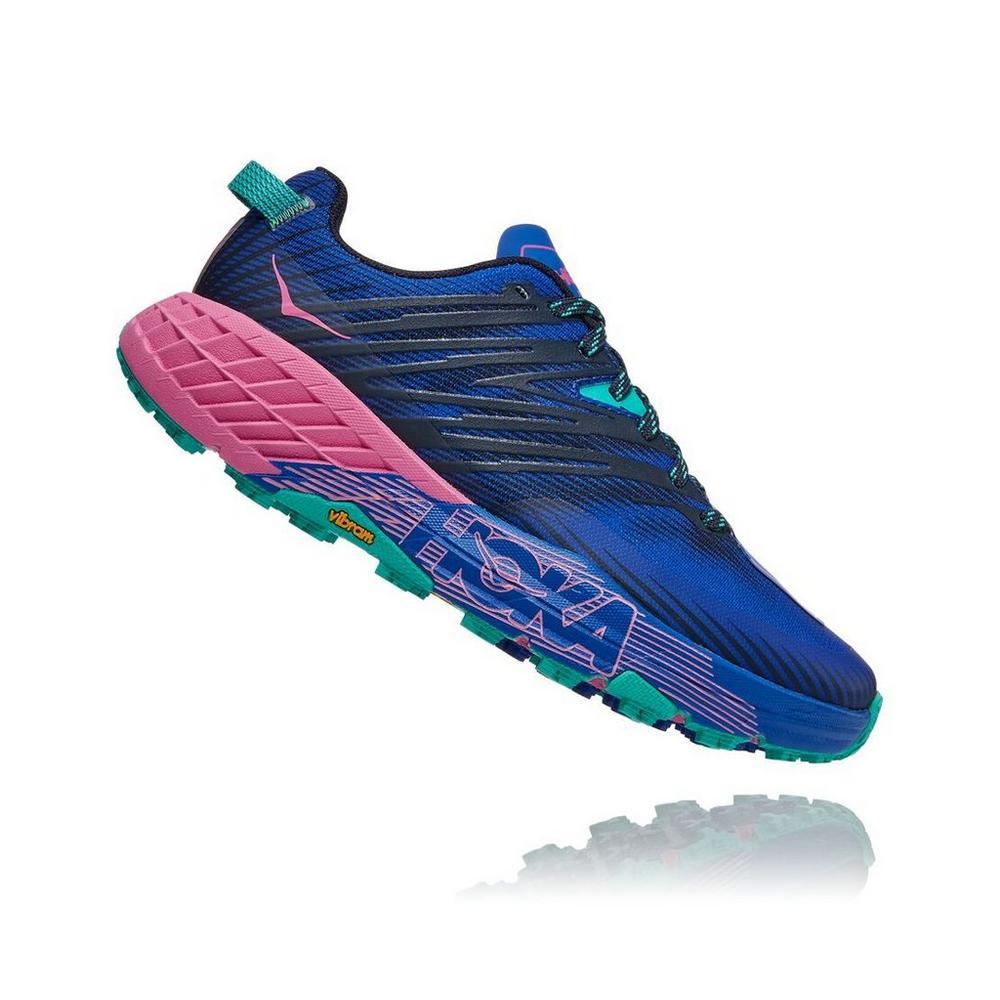Hoka Women's Speedgoat 4 - Dazzling Blue