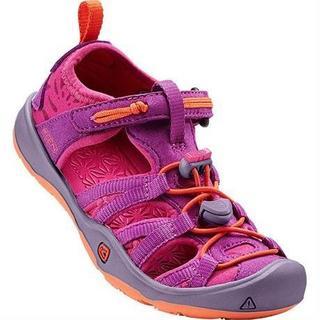 Sandals Children's Moxie CHILD Purple Wine/Nasturtium