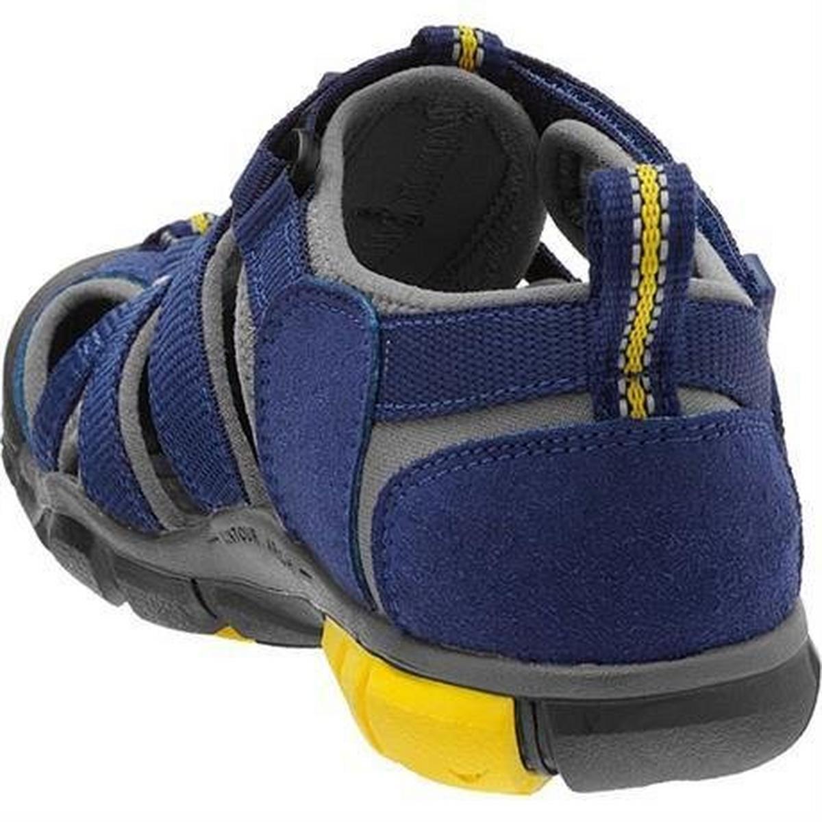 Keen Kids' Children's Seacamp II CNX CHILD Blue Depths/Gargoyle Sandal