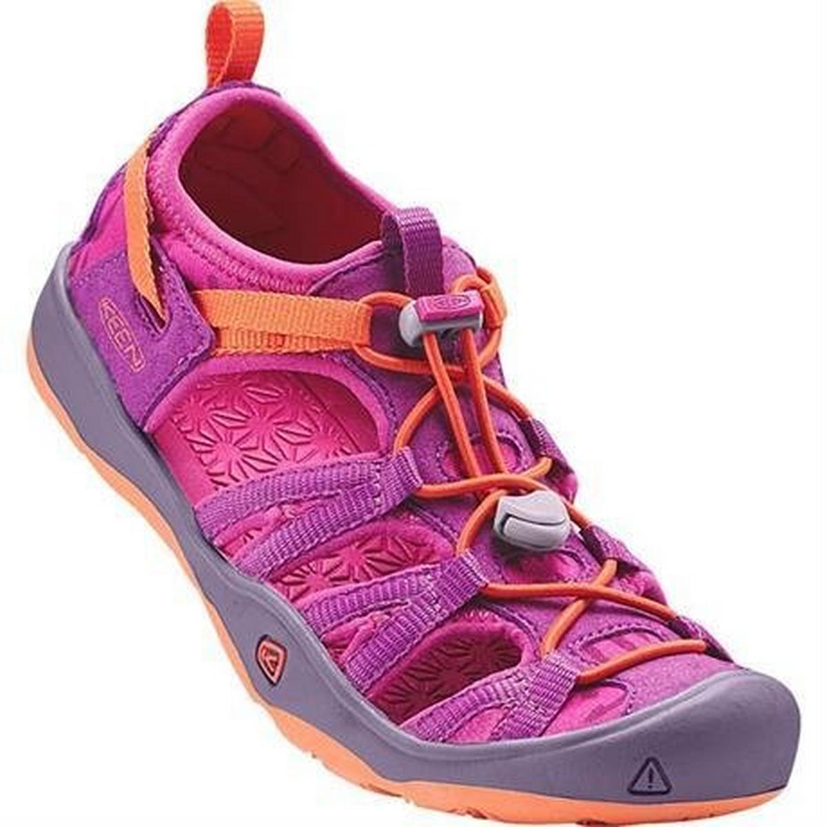 Keen Sandals Children's Moxie YOUTH Purple Wine/Nasturtium