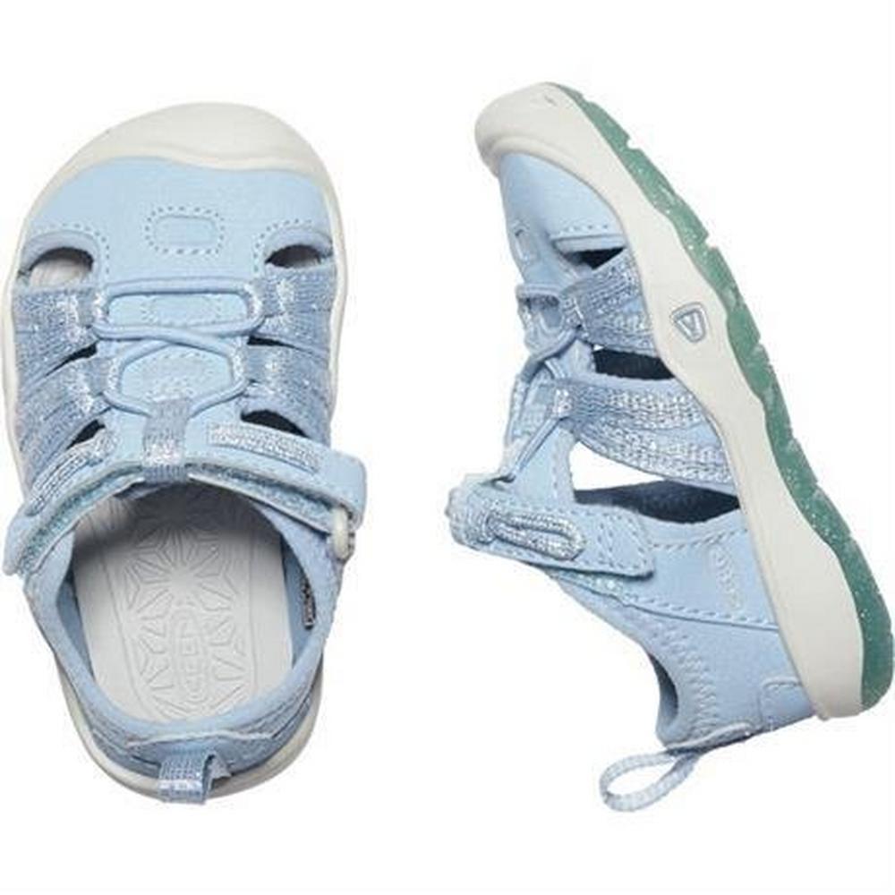 Keen Sandals Kid's Moxie TOTS Powder Blue/Vapour