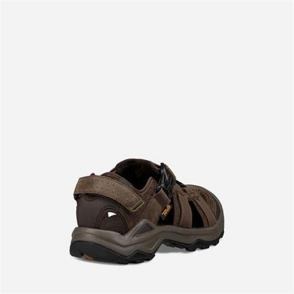 Teva Sandals Men's Omnium 2 Leather Turkish Coffee