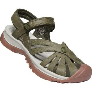 Women's Rose Leather - Green