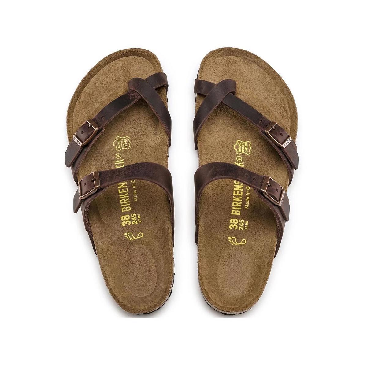 Birkenstock Women's Mayari Thong Oiled Leather Sandal