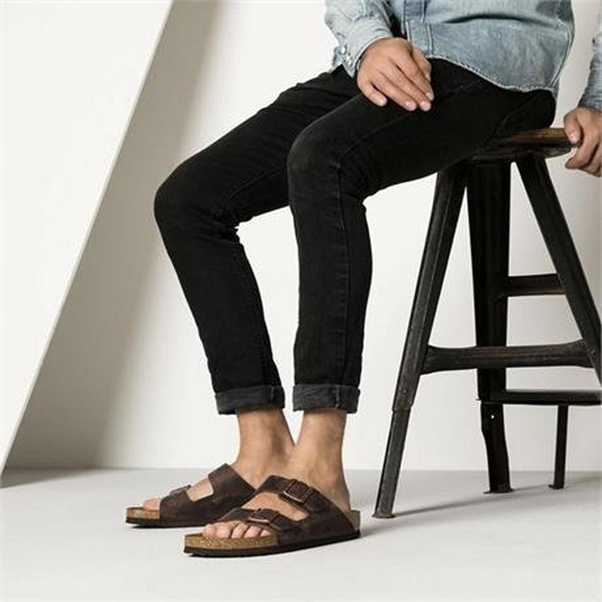 Birkenstock Sandals Arizona Regular Habana/Oiled Leather