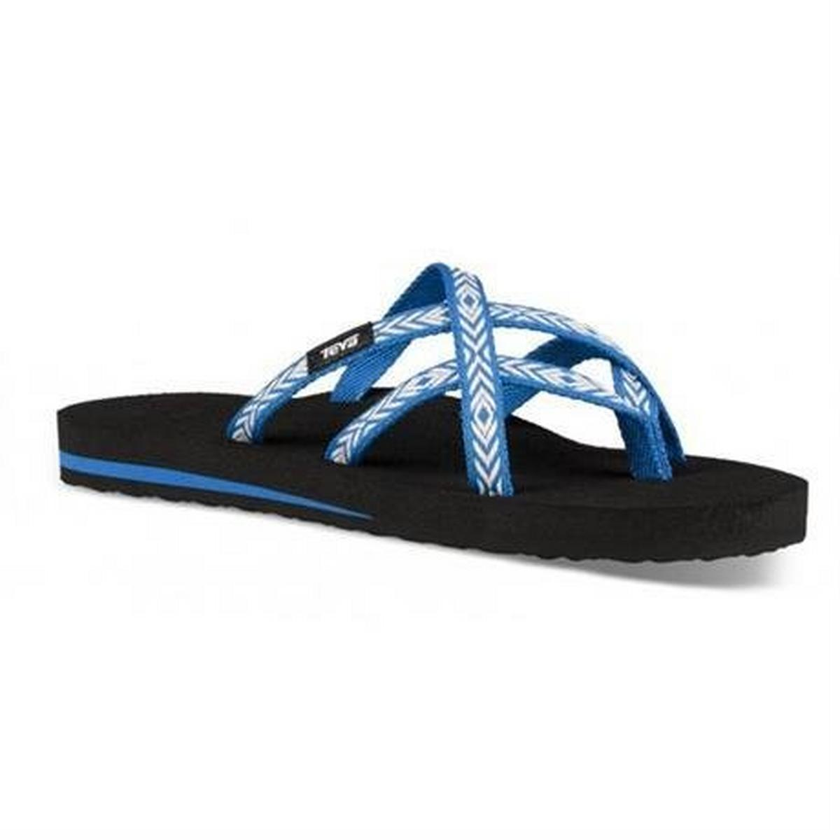 Teva Sandals Women's Olowahu Flip Himalaya Lapis Blue