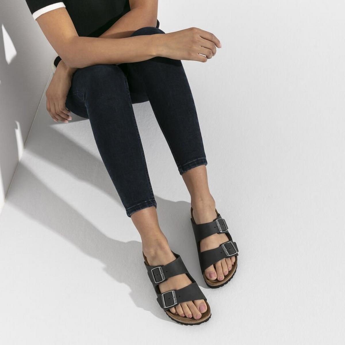 Birkenstock Arizona Soft Footbed Narrow Fit - Black