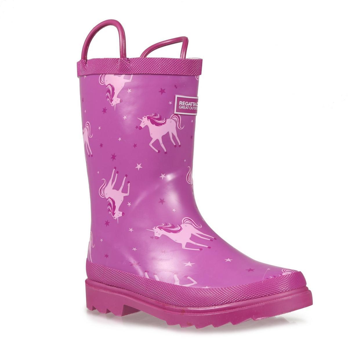 Regatta Kids Minnow Junior Welly Boot - Unicorn