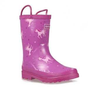 Kids Minnow Junior Welly Boot - Unicorn
