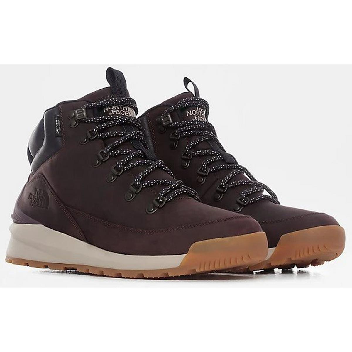 The North Face Men's Back-to-Berkeley Mid Waterproof Boots - Brown