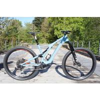 EX-DEMO Turbo Levo SL Comp Carbon Electric Mountain Bike - 2020 - Blue