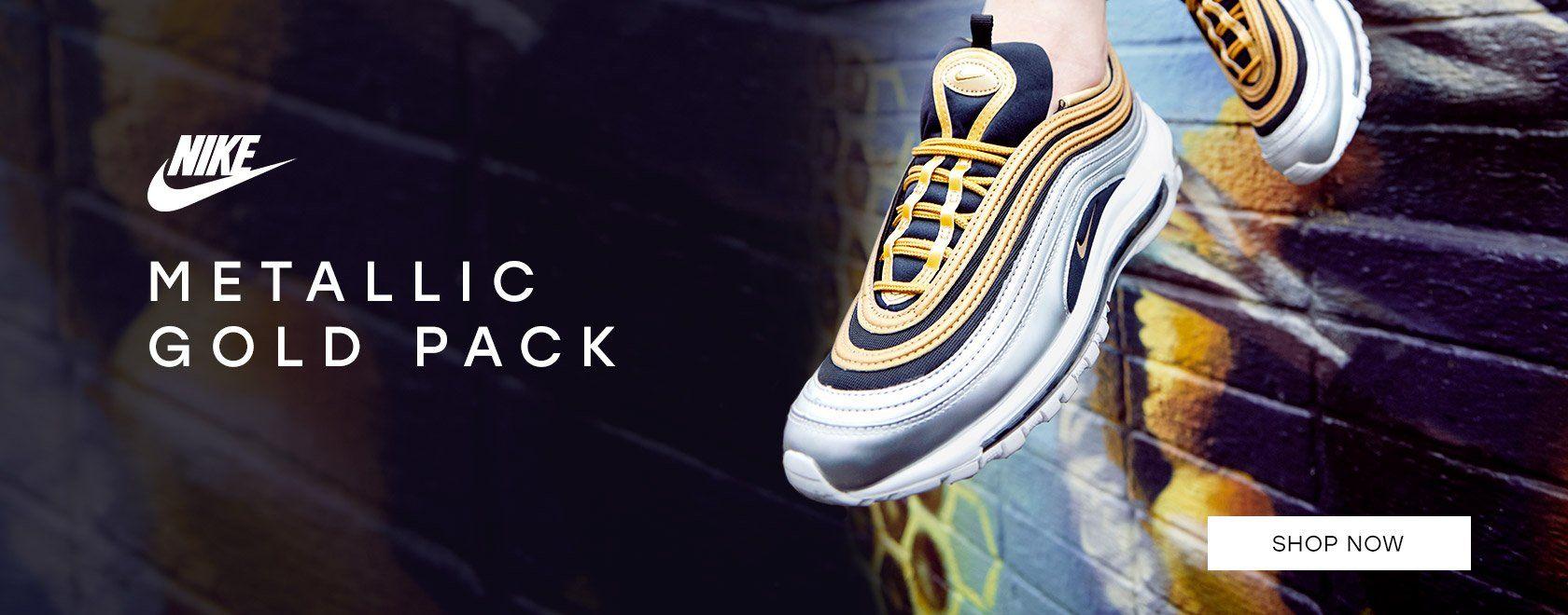 Nike Metallic Gold Pack