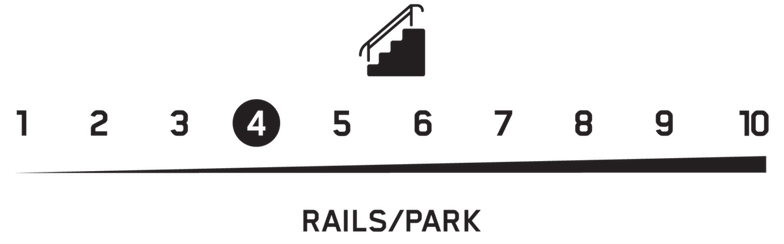 outline terrain rails park