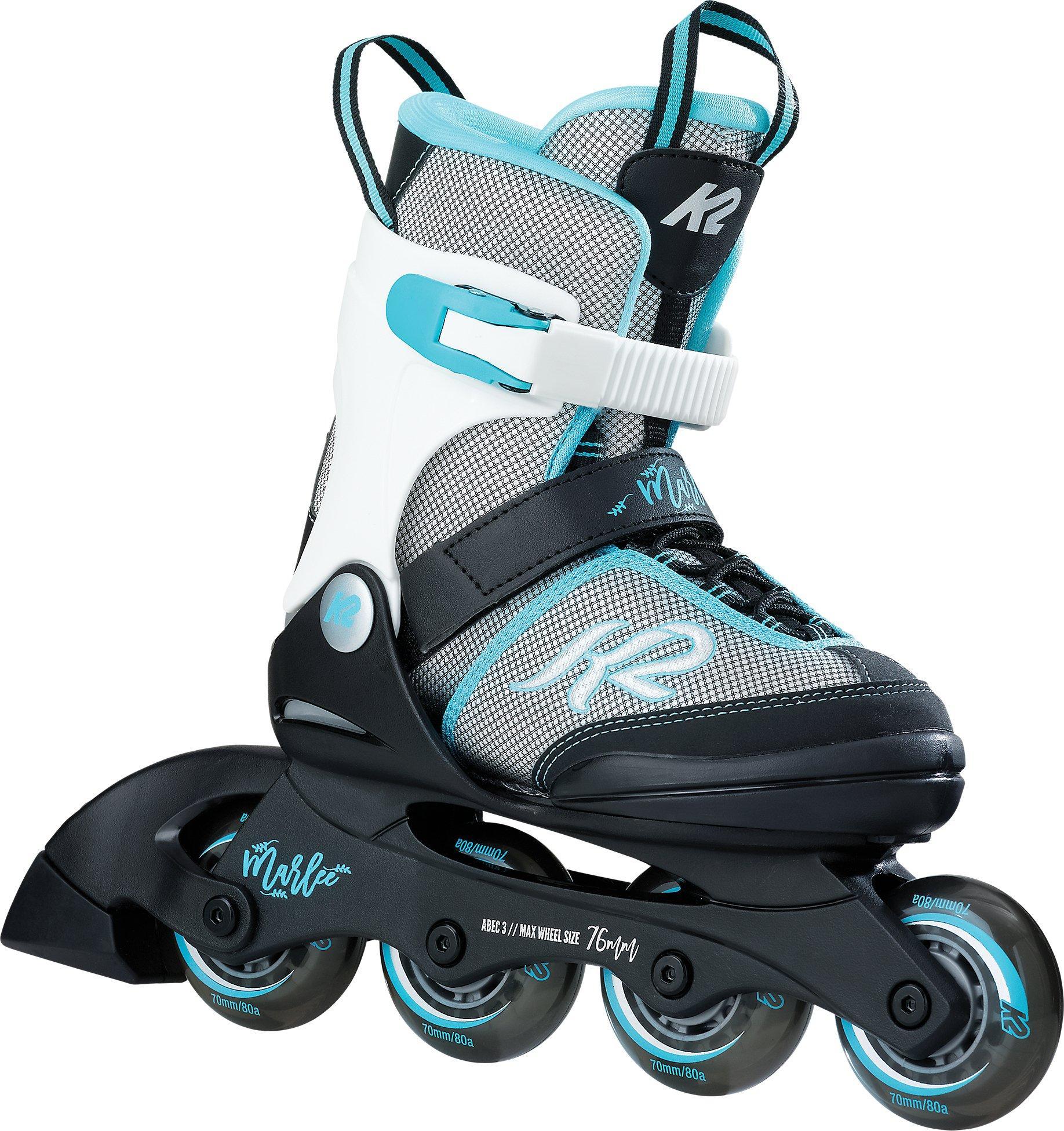 Bleu Pointure K2 Skates Marlee Ice Patins /à Glace pour Fille Camouflage