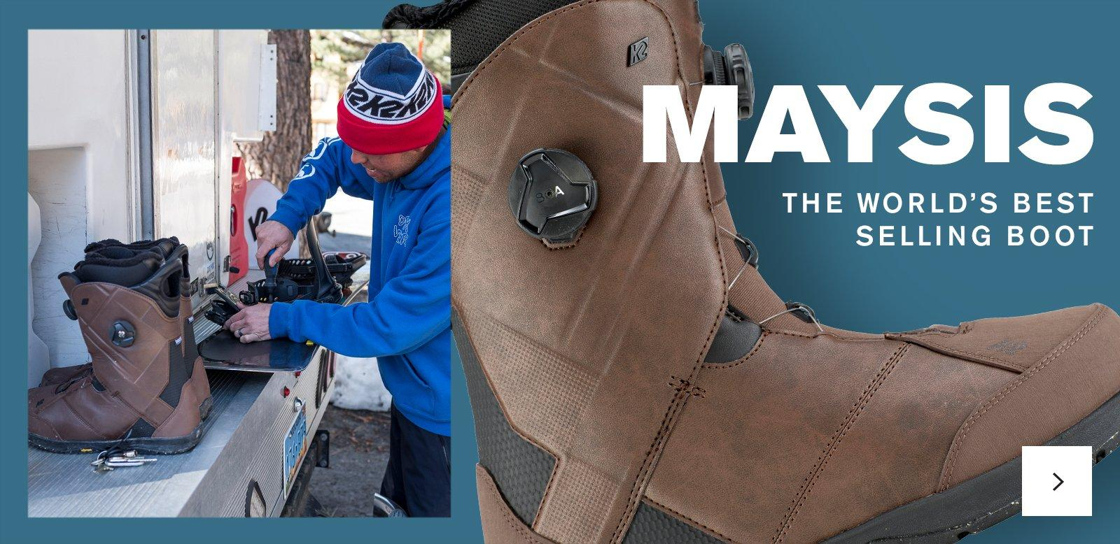 View the K2 Maysis - Best Selling Boot
