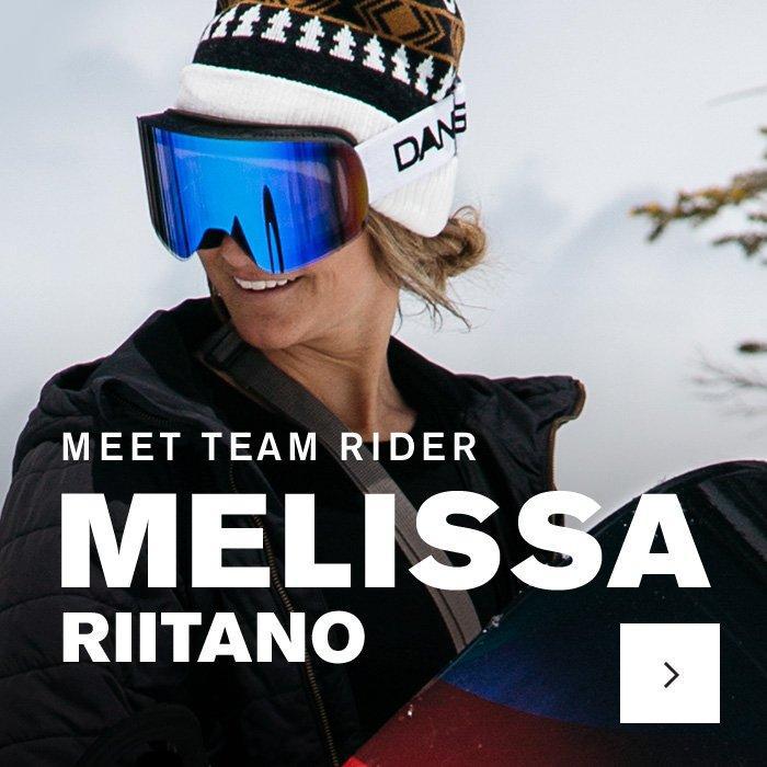 Melissa Riitano - K2SB Team Rider
