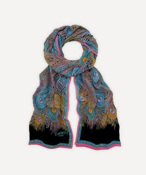 Hera Long Silk Scarf