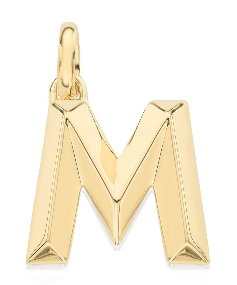 Gold-Plated Alphabet Pendant A-Z