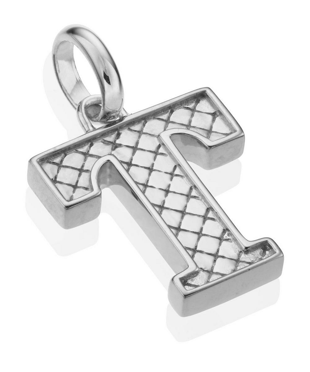 Silver Alphabet Pendant A-Z