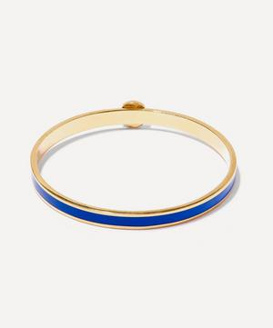 Flora Solid Thin Bangle